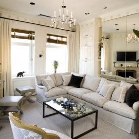 Sara Gilbane Interiors | Town | Living Room