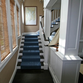 Sara Gilbane Interiors | Country-Sea | Stairs