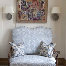 Sara Gilbane Interiors | Country-Sea | Entry