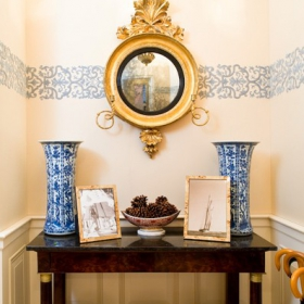Sara Gilbane Interiors | Town | Entry