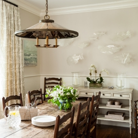 Sara Gilbane Interiors | Country-Sea | Dining Room