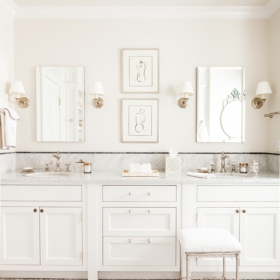 Sara Gilbane Interiors | Country-Sea | Bathroom