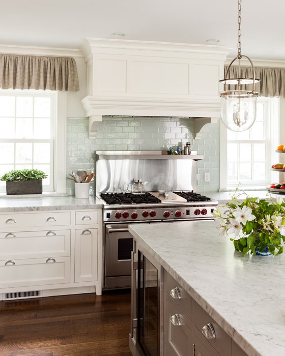 Sara Gilbane Interiors | Country-Sea | Kitchen