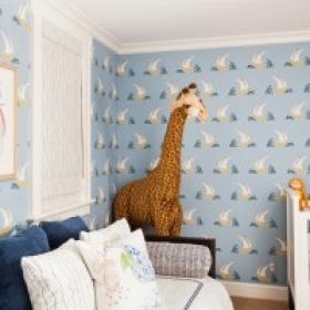 Sara Gilbane Interiors | Country-Sea | Nursery
