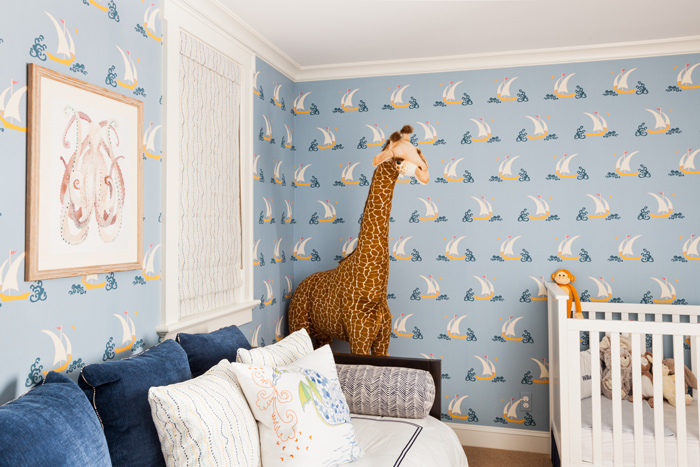 Sara Gilbane Interiors | Country-Sea | Nursery