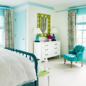 Sara Gilbane Interiors | Country-Sea | Bedroom