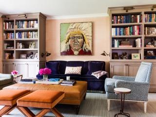 Sara Gilbane Interiors | Country-Sea | Living Room