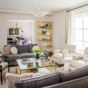 Sara Gilbane Interiors   Town   Living Room