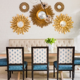 Sara Gilbane Interiors | Town | Dining Room
