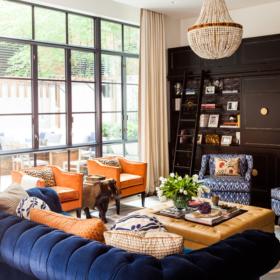 Sara Gilbane Interiors | Town | Living Room