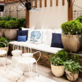 Sara Gilbane Interiors | Town | Backyard