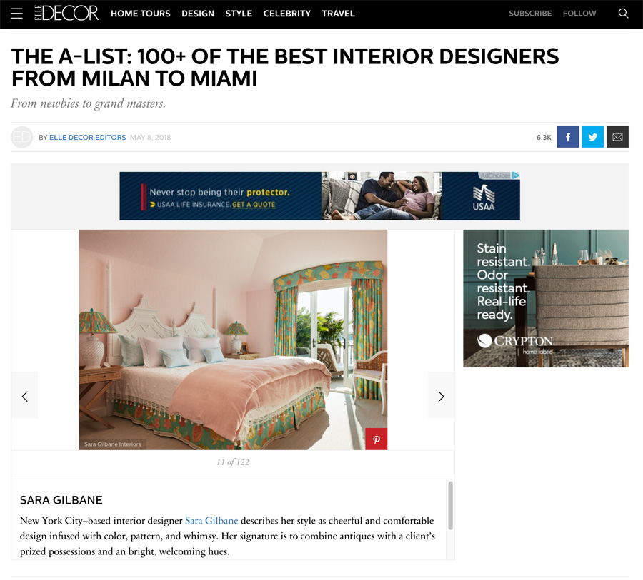 THE A-LIST: 100+ OF THE BEST INTERIOR DESIGNERS FROM MILAN TO MIAMI
