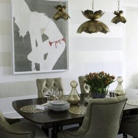 Sara Gilbane Interiors   Town   Dining Room