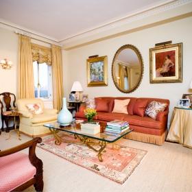 Sara Gilbane Interiors   Town   Family Room