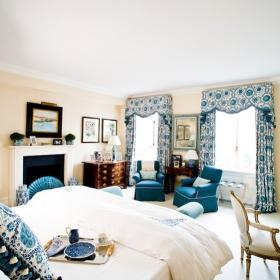 Sara Gilbane Interiors   Town   Master Bedroom