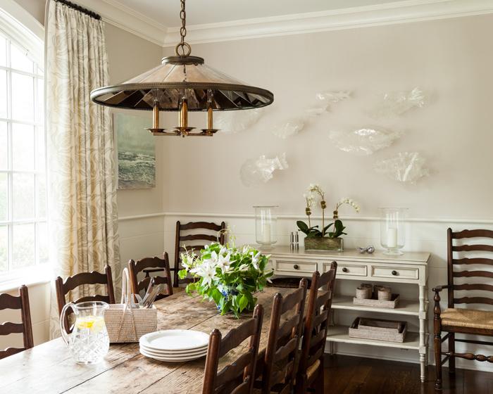 Sara Gilbane Interiors | Country-Sea | Dining Room