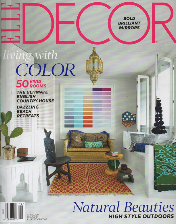 Elle Decor April 2014