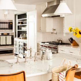 Sara Gilbane Interiors | Town | Kitchen